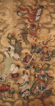 A picture of Taoist immortals